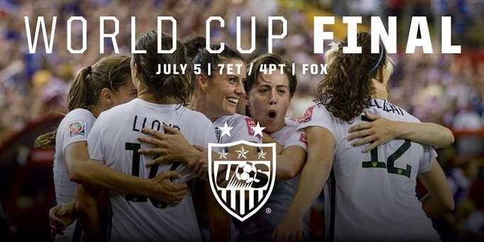 US Women To World Cup Finals!