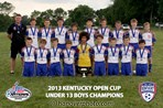 2013 State Open Cup