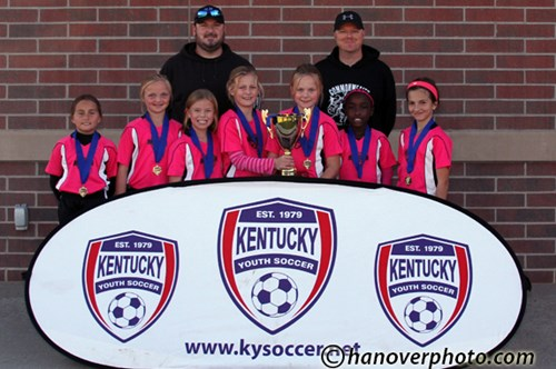 U10 Girls Champs - Twisted Sisters