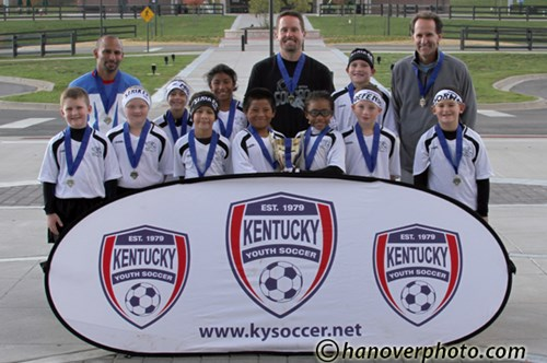 U10 Mixed Gold Champs - Mercer Strikers