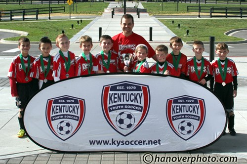 U10 Mixed Silver Finalist - Northern Kentucky Dragons