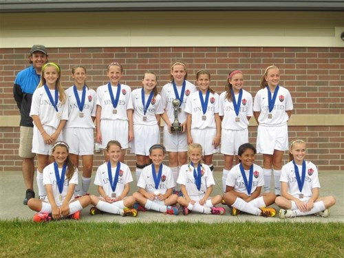 U11 Girls Champions - Owensboro United