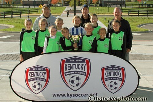 U12 Girls Champs - London Legacy