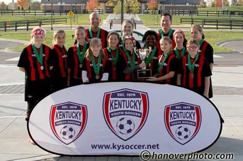 U12 Girls Finalist - Milan Fire