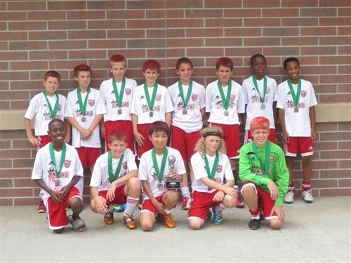 U12 Boys Finalist - KSA 00 Elite 1