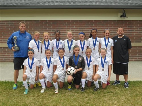 U12 Girls Champions - CSC 01 Gold