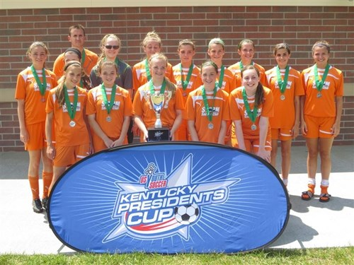 U14 Girls Finalist - Storm