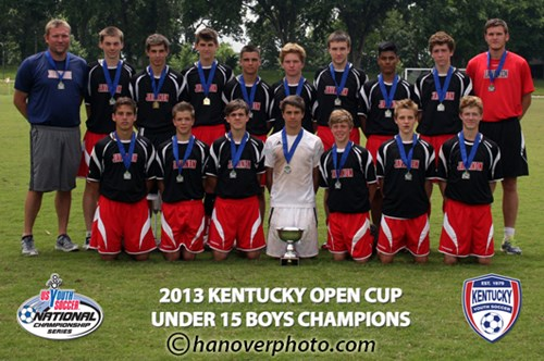U15 Boys Champion - Javanon 98 Black
