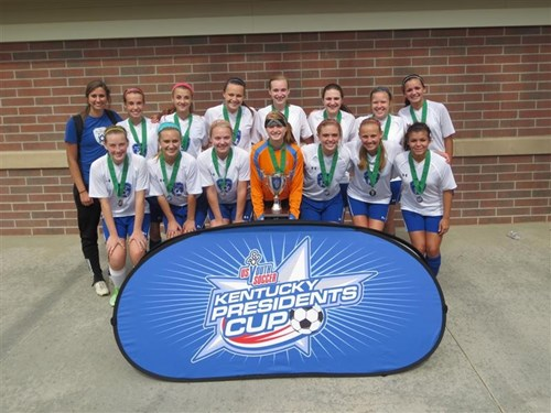 U16 Girls  Finalist - FC Kentucky Renegades